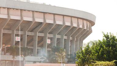 Zimbabwe fan dies in stampede