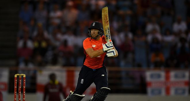 Jonny Bairstow smashes half-century as England win opening T20I against Windies