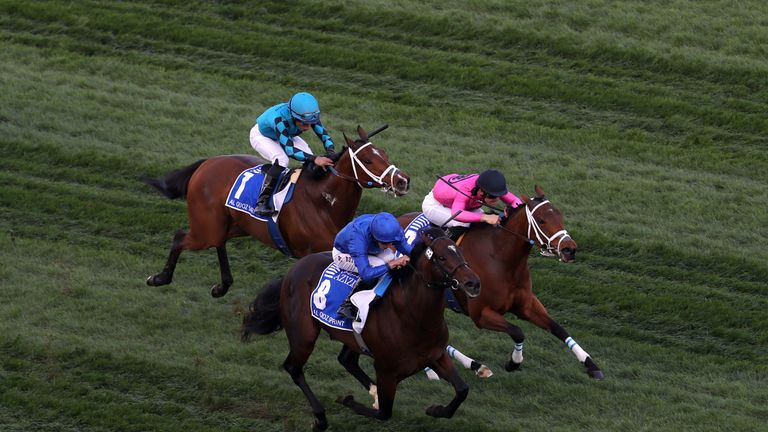 William Buick riding Blue Point