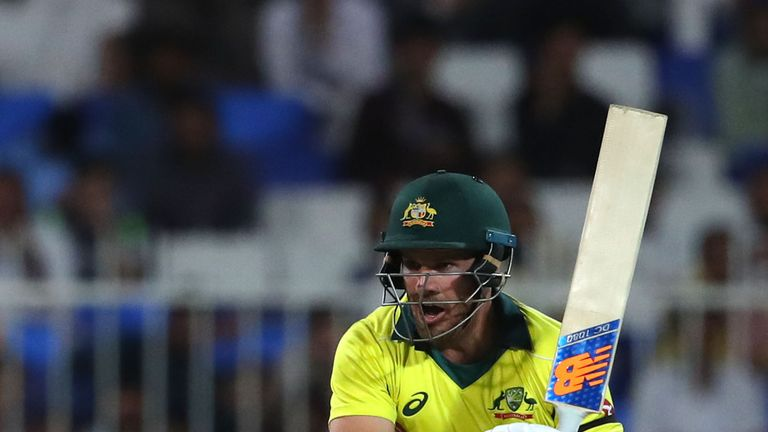 Finchs century helps fire Australia to eight-wicket win over Pakistan