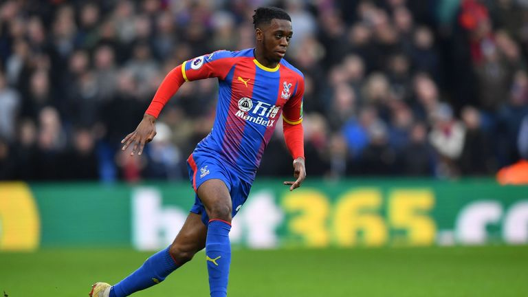 Aaron Wan-Bissaka has shone at right-back for Crystal Palace since making his debut last year