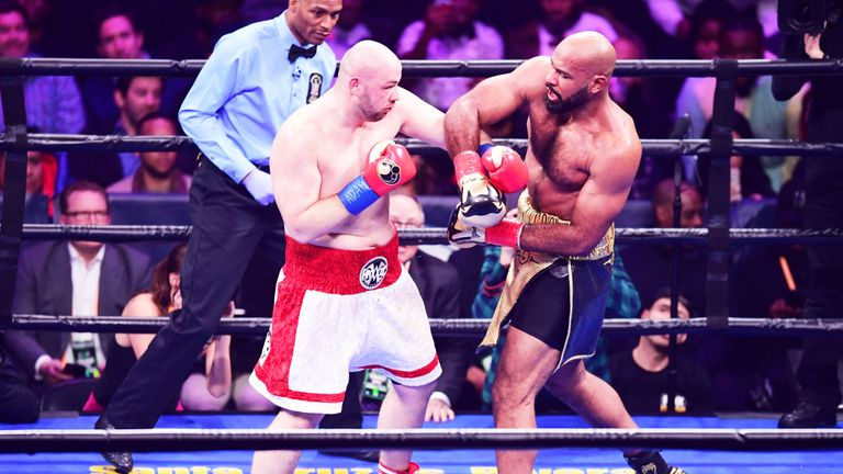The 29-year-old stopped Gerald Washington in his last fight in January