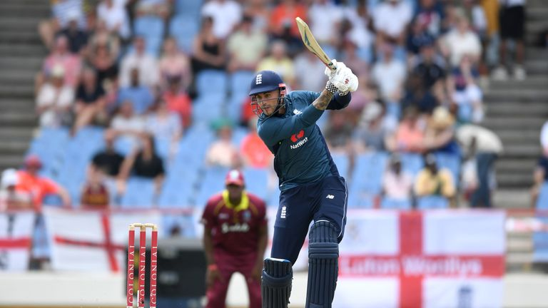 Alex Hales begins his white-ball only contract with Notts on April 19