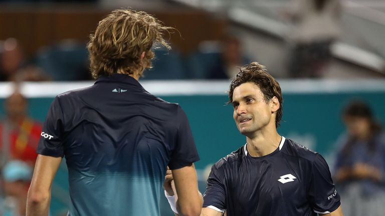 Alexander Zverev suffered another early exit as a disappointing 2019 continued with defeat to David Ferrer