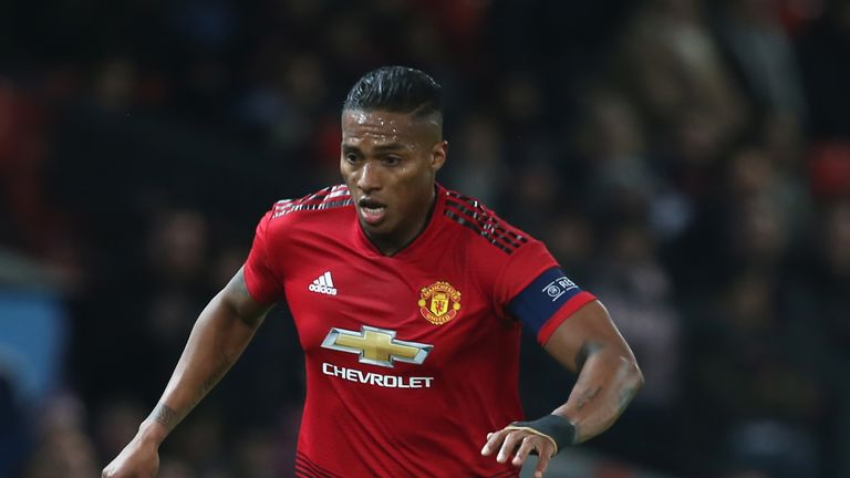 Antonio Valencia is out of contract at Manchester United at the end of the season