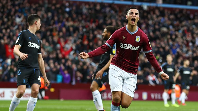 Anwar El Ghazi is staying with Aston Villa