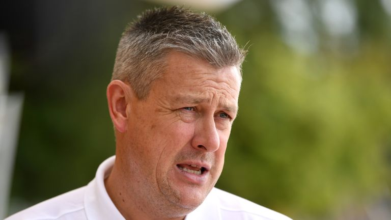 Ashley Giles spoke to Australia and Ireland about the choice of ball