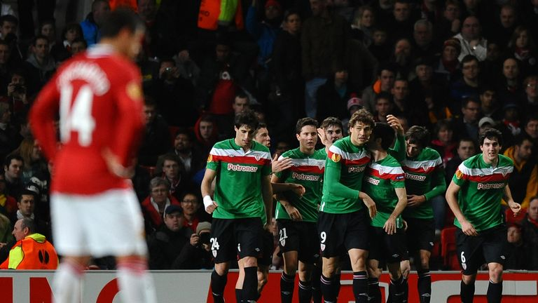 Bielsa's Athletic Bilbao outplayed Manchester United at Old Trafford in 2012