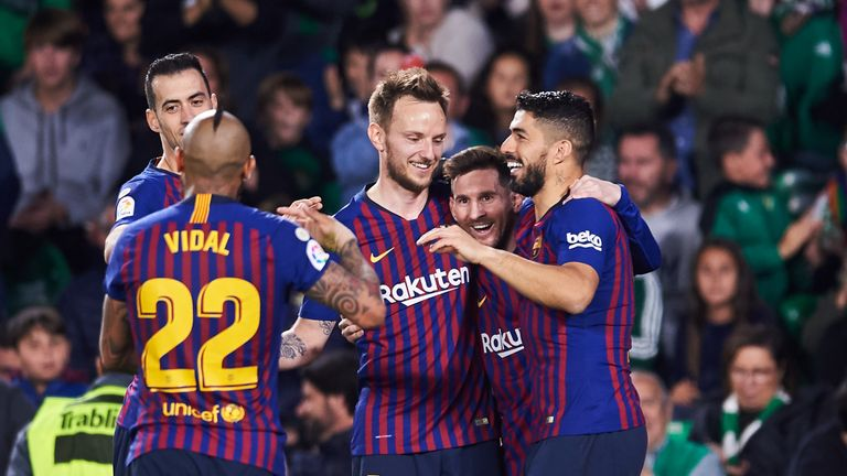 Real Betis 1 - 4 Barcelona - Match Report & Highlights