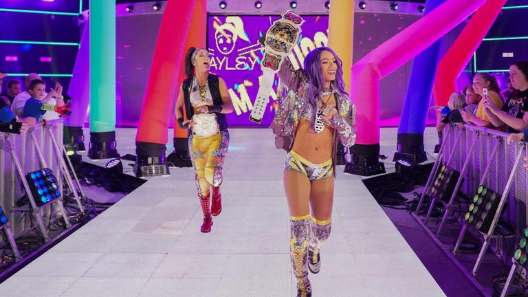 Sasha Banks and Bayley were the driving forces behind WWE introducing women's tag-team titles