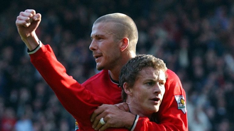 Beckham is excited by the job Solskjaer is doing at Manchester United
