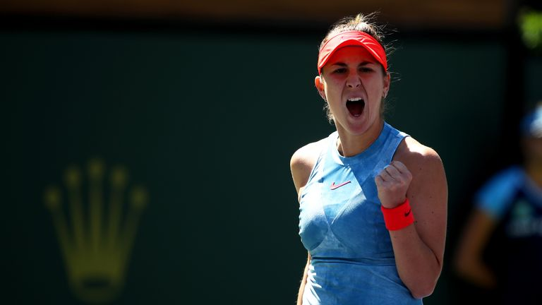 Belinda Bencic continued her amazing run by upsetting Karolina Pliskova