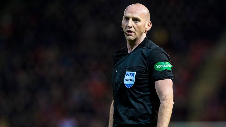 Bobby Madden will take charge of the Old Firm clash between Celtic and Rangers