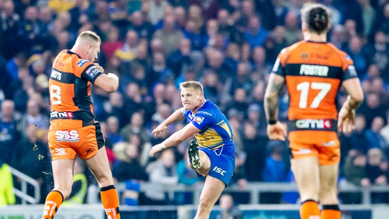 Leeds' Brad Dwyer denied Castleford in golden-point extra-time earlier this year