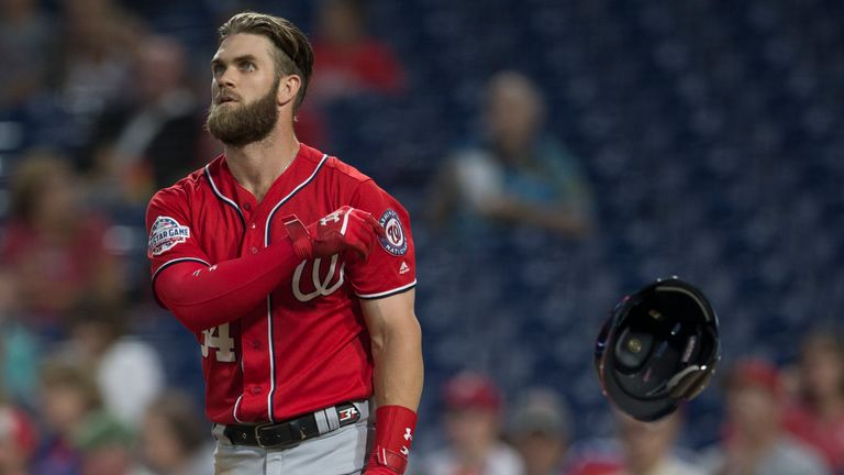 Bryce Harper is believed to have turned down an offer to stay with the Washington Nationals
