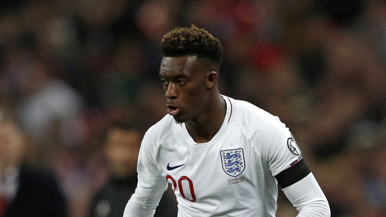 Callum Hudson-Odoi was subjected to racist abuse during England's game in Montenegro