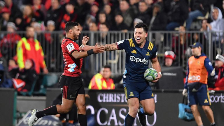 The Highlanders vs Crusaders clash is one of the biggest in the Super Rugby schedule for both sides