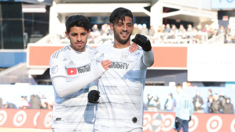 Carlos Vela twice cancelled out New York City's lead