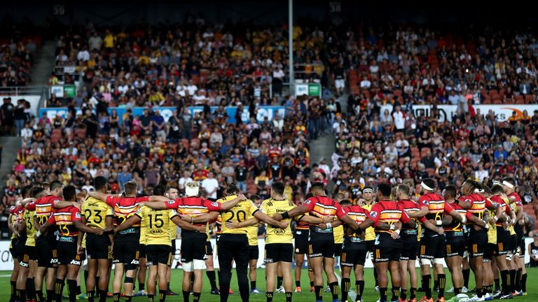 Chiefs and Hurricanes players reflect on the Christchurch mosque shootings before their Super Rugby match