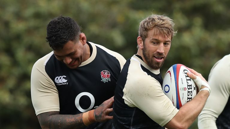 Former captain Chris Robshaw missed England's first World Cup training camp