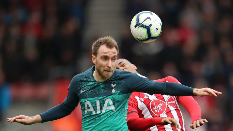 Real Madrid will step up their interest in Christian Eriksen in the summer