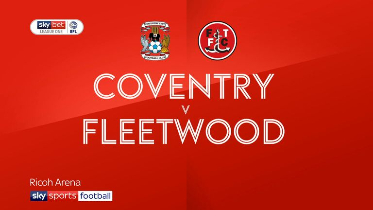 Coventry vs Fleetwood preview