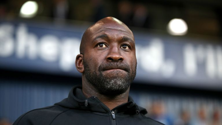 Darren Moore led West Brom to fourth place in the Championship before his sacking