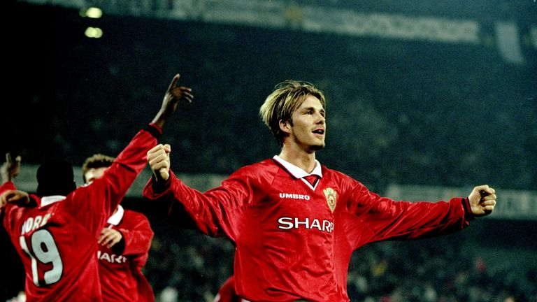 David Beckham To Play In Manchester United Treble Reunion