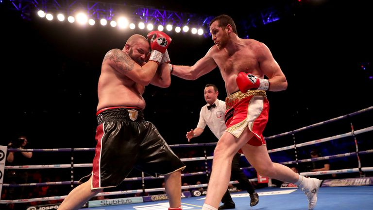 Price ended last year with a stoppage win over Tom Little