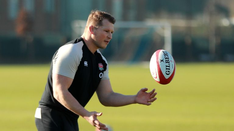 Dylan Hartley 'not given up hope' of making England's World Cup squad, says Eddie Jones