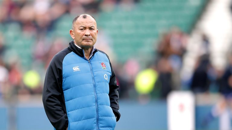 Eddie Jones' England contract expires in June 2021