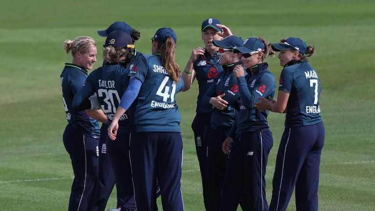 England Women won their T20I series against India 3-0