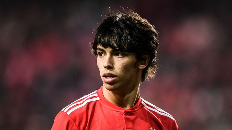 Joao Felix has attracted interest from a number of Europe's top clubs