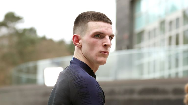 Declan Rice apologises for pro-IRA posts on social media
