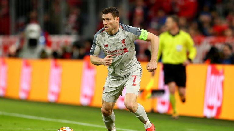 James Milner wants to see as many English teams as possible reach the Champions League semi-finals