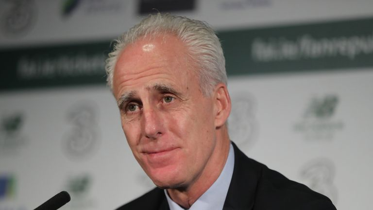 Mick McCarthy begins his second spell as Ireland manager in Gibraltar on March 23