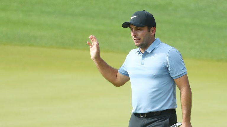 Molinari topped Group 7 after winning all three of his matches