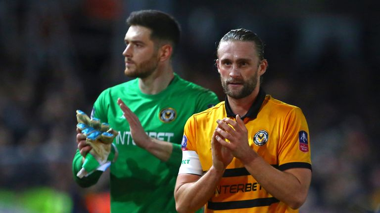 Franks joined Newport in the summer of 2018