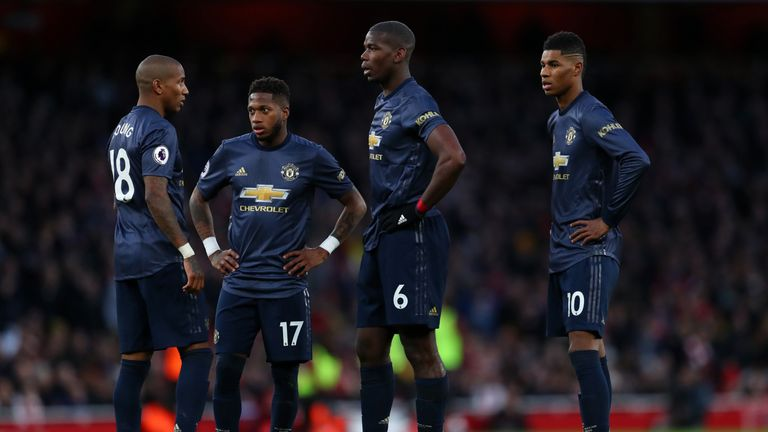 Paul Pogba and Fred were off the pace in United's defeat, says Graeme Souness