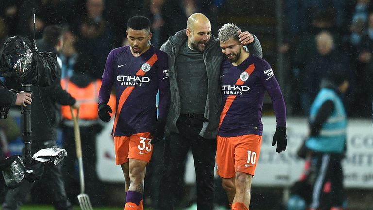 Guardiola says he will tell his players they are heroes, regardless of if they lose to Tottenham in the Champions League quarter-final