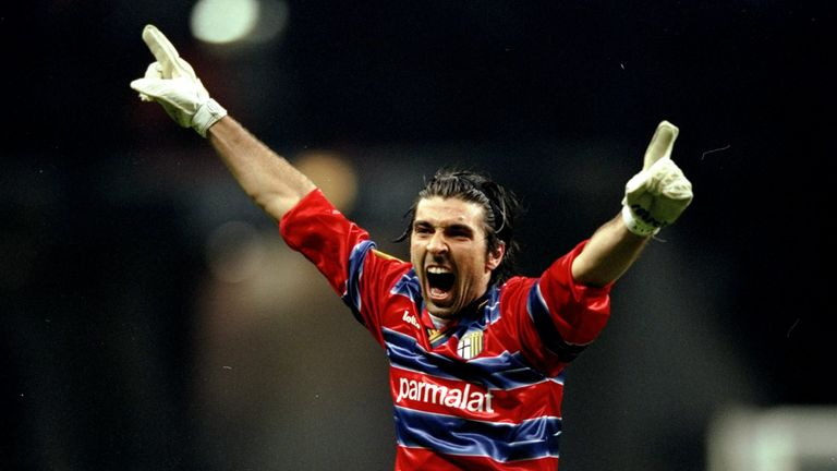 Zola played with Gianluigi Buffon during the keeper's early days at Parma