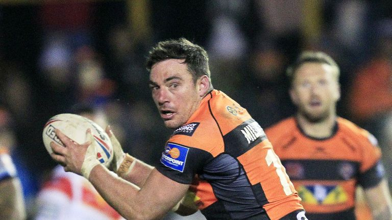 Grant Millington got a crucial try on his 200th Castleford appearance
