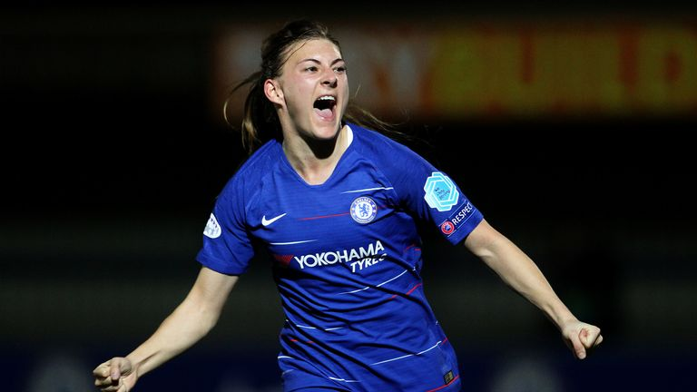 Hannah Blundell is part of a very strong defence at Chelsea