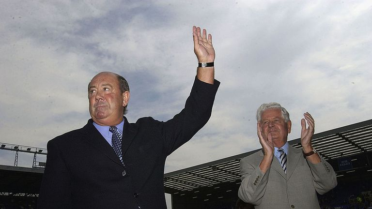 Farrelly played under legendary former Everton manager Howard Kendall