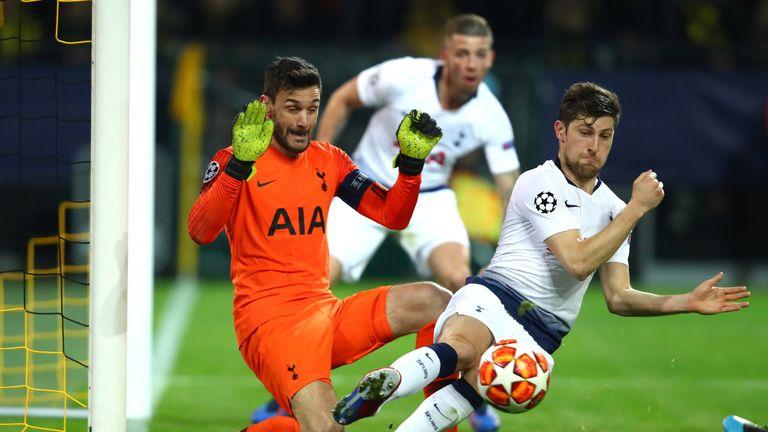 Hugo Lloris made several fine stops for Tottenham