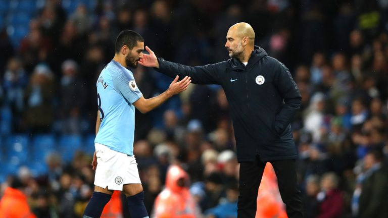 Pep Guardiola is hoping to keep Gundogan at the Etihad Stadium