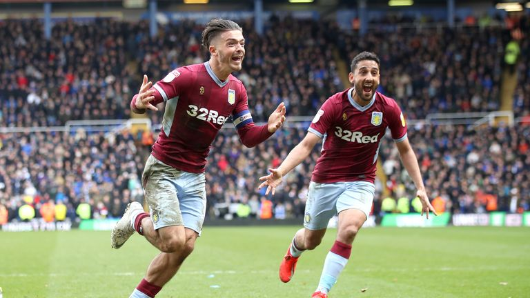 Jack Grealish scored one and made another