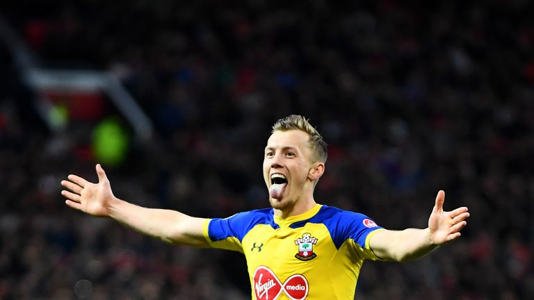 James Ward-Prowse soared into the top 10 this week