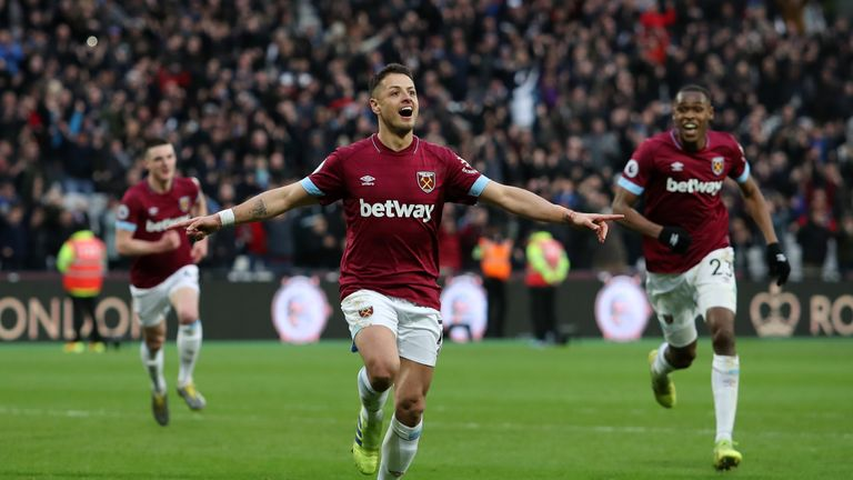 A superb cameo performance from Javier Hernandez won West Ham the points