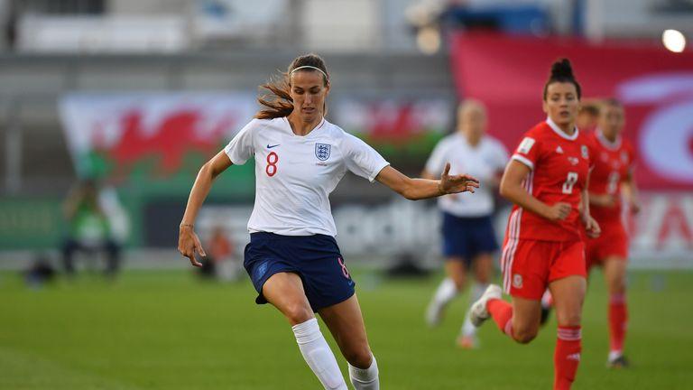 Jill Scott returns to the England squad for April's friendlies